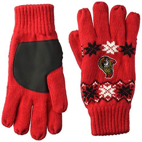 FOCO NHL Unisex cmbslodge Handschuh, Unisex, Team Color, Einheitsgröße