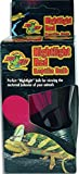 Zoo Med DB-100E Nightlight Red Reptile Bulb, Lampe, 100 W...