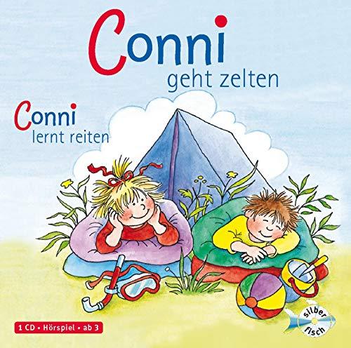 Schneider, Liane : Conni geht zelten / Conni lernt reiten, 1 Audio-CD