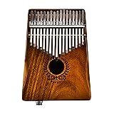 Lookthenbuy Muspor 17 Tasten EQ Kalimba Afrika Daumen Klaviertastatur Akazie