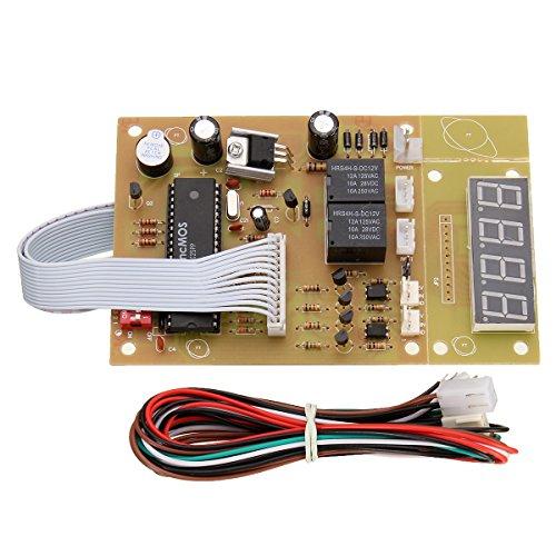 ILS - 4 bits Temps contrôleur d'alimentation Timier Conseil Timing Pour Coin Acceptor Sélecteur lave-linge
