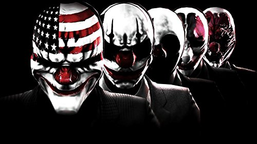 payday-2-customized-43x24-inch-silk-print-poster-affiche-en-soie-wallpaper-great-gift