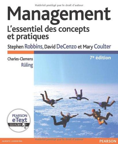 Management 7e Ed. + eText par Stephen Robbins