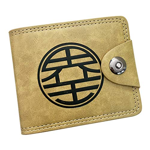 Cartera amarilla Dragon Ball Anime