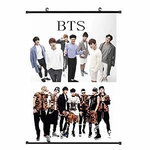 Kpop Bangtan Boys BTS Goods New Rap Monster cloth hanging poster