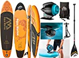 AQUA MARINA FUSION SUP inflatable Stand Up Paddle mit BlueDrive Power Motor