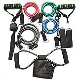 Mimagogo 11 Stück/Set Multifunktions Rally Pull Seil Muskeltraining Widerstand-Bänder