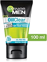 Garnier Men Oil Clear deep cleansing Facewash, 100g