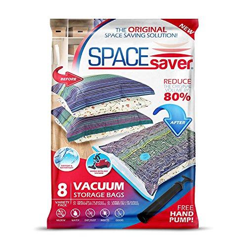 SpaceSaver, Sacchetti organizer sottovuoto, Variety Size