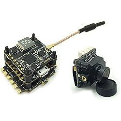 Goolsky- HGLRC XJB F438-TX20.V2-Elf F4 Controlador de Vuelo OSD 4in1 38A Blheli_S ESC 5.8G FPV transmisor 600TVL cámara para RC Racing Drone
