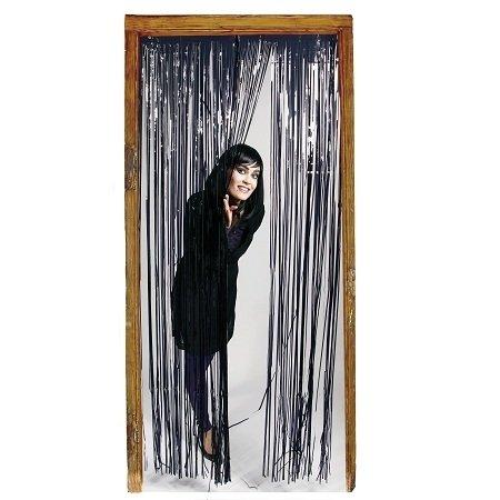 Folat 235362x 1m cortina de puerta, color negro