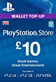 PlayStation PSN Card 10 GBP Wallet Top Up [PSN Download Code - UK account]