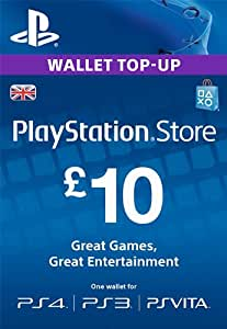 PlayStation PSN Card 10 GBP Wallet Top Up | PSN Download