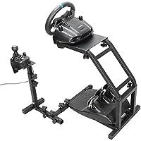 Autovictoria Simulador de Carrera Soporte de Volante de Carrera para Logitech G25 G27 y G29 no