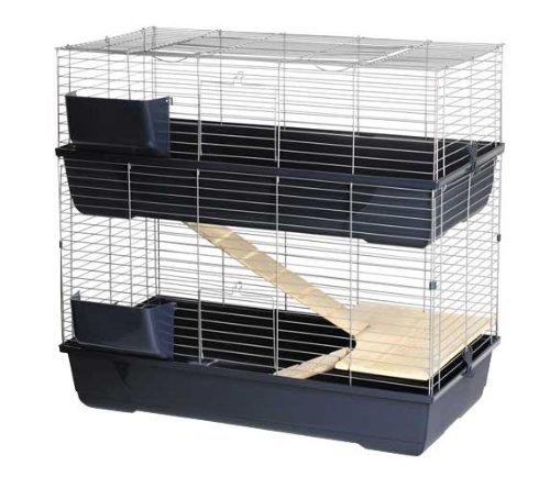 Jaula para roedores MAXI BALDO TWIN 100, 2 plantas, 100 x 53 x 96 cm