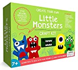 Little Monsters principiantes Kit de costura - impresionante regalo para las niñas...
