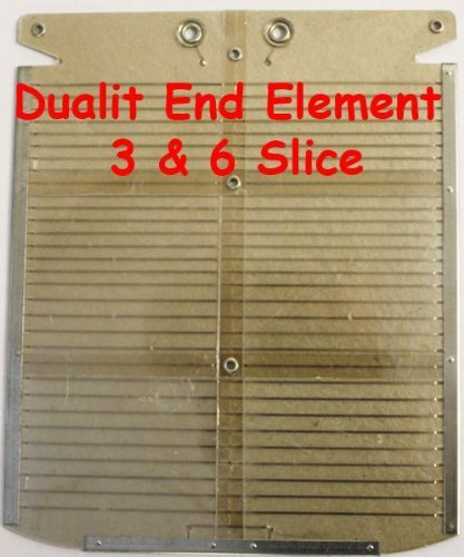 Toaster Element: Dualit Dualit 6 Slot Ende Toaster Element Ende
