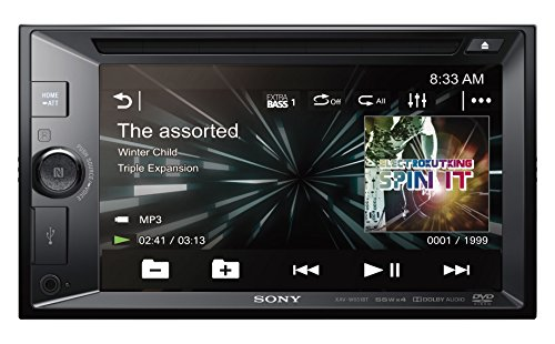 Sony XAV-W651BT 2DIN  DVD Moniceiver, NFC, Bluetooth, SongPal, 6,2 zoll Display, 4x 55W, Extra Bass
