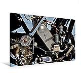 Premium Textil-Leinwand 120 x 80 cm Quer-Format Zündapp Z 300 | Wandbild, HD-Bild auf Keilrahmen, Fertigbild auf hochwertigem Vlies, Leinwanddruck von Ingo Laue (CALVENDO Mobilitaet)