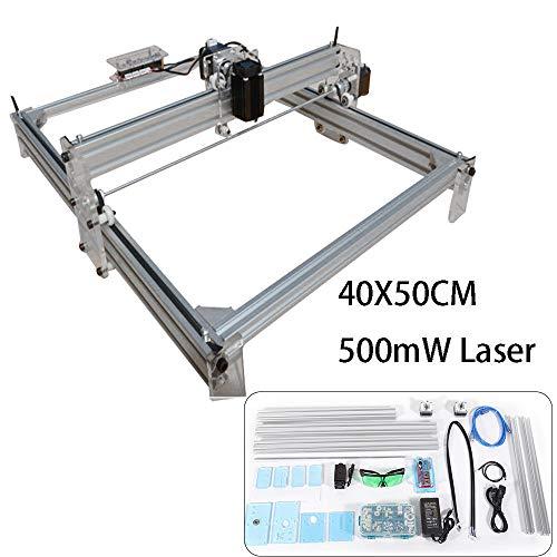 Desktop Laser Graviermaschine Lasergravierer Engraving Carving Maschine Gravur Schnitzmaschine DIY Laserdrucker (500MW Desktop Laser) (Gravur-laser-maschine)