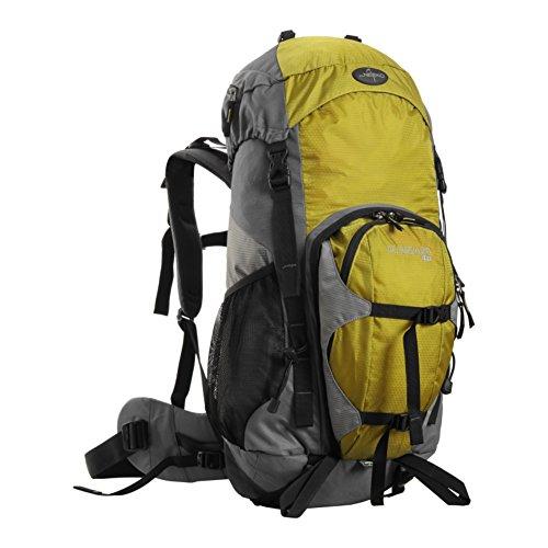 sacchetti di alpinismo professionali / borsa a tracolla all'aperto / grande capienza zaino da viaggio impermeabile-rosso 40L giallo