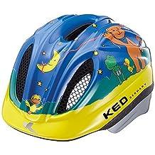 KED Meggy Original–Casco infantil con antinsectos, máxima MicroShell de Protectora, QuickSafe Blink lámpara–Fabricado en Alemania., Mondbär