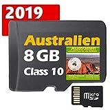 ★Australien & Neuseeland Garmin GPS Strassenkarte 8GB für Garmin Navigationsgeräte ★ ORIGINAL von STILTEC ©