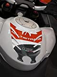 TANKPAD AUFKLEBER 3D KOMPATIBEL MOTORRAD DUCATI CORSE MULTISTRADA 1200 2010-14