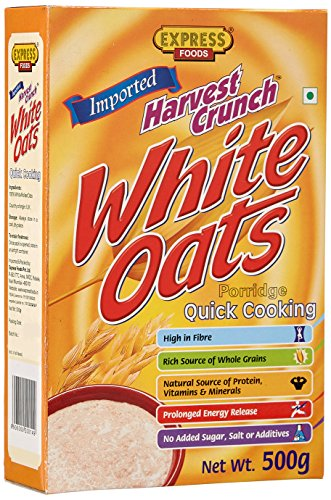 Express Foods White Oats Quick Cooking, 500g