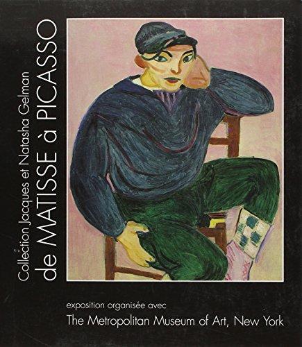 De Matisse à Picasso : Exposition, MMA New York 1994, édition bilingue (français/anglais)
