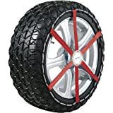 Michelin 92301 Catene da neve in tessuto Easy Grip H12, ABS e ESP compatibile, TÜV/GS e ÖNORM, 2 pezzi