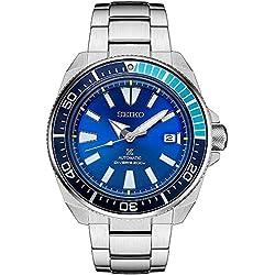 Seiko Mens Watch Prospex Blue Lagoon Samurai Limited Editions Automatic SRPB09K1