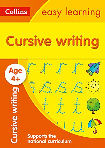 Cursive Writing Ages 4-5: easy cursive handwriting activities for reception year (Collins Easy Learning Preschool)