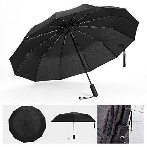 CLUCI Paraguas de Viaje Resistente al Viento