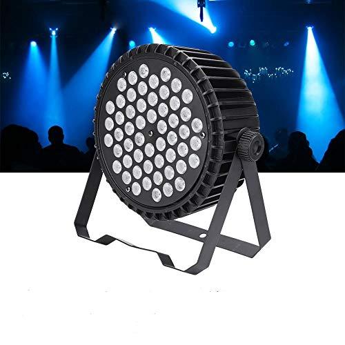 3 In 1 RGB Silent Par Licht 54 LED Bühnenlicht KTV-Licht PAR Strahler für DJ Disco Party (Silent Licht)
