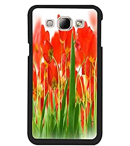 ColourCraft Beautiful Flowers Design Back Case Cover for SAMSUNG GALAXY A8