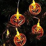 Unbekannt LED Zubehör Halloween Party 40 Led Runde Kürbis Form Schnur Licht Dekoration Home Decoration Glow Party Rave Festival