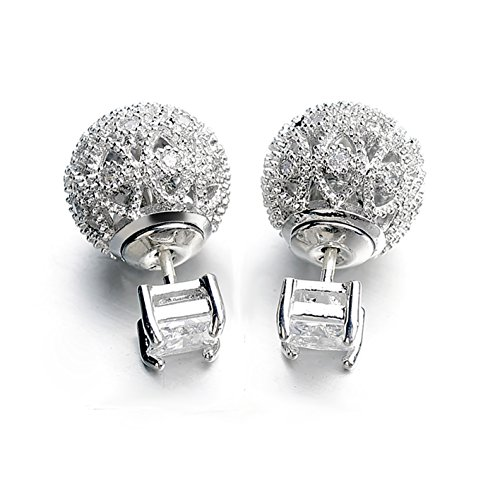 quke-woman-silver-tone-cubic-zirconia-crystal-front-and-backs-ear-jacket-stud-earrings-bridal-jewelr