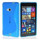ANNART Coque pour Microsoft Nokia Lumia 535/535 Dual SIM, Coque S-Line TPU Gel...