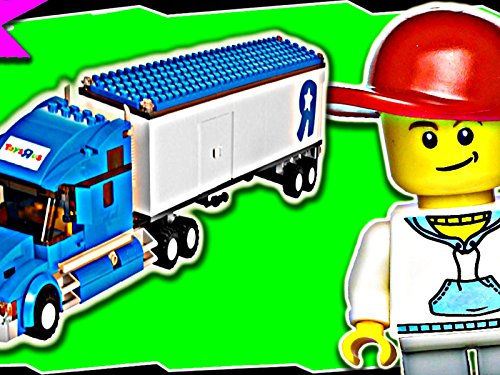 Clip: Toys R Us Truck (Lego Toys R Us Truck)