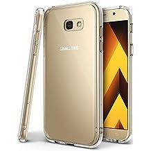 Funda Galaxy A3 2017, Ringke [FUSION] Protector de TPU con Parte Posterior Transparente de PC Carcasa Protectora Biselada para Samsung Galaxy A3 2017 - Transparente Clear