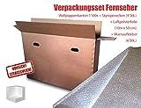 Verpackungsset Flachbild-TV bis 48