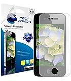Pack de 3 Films de protection d'écran pour iPhone 4/4S Anti-trace/Anti-doigts