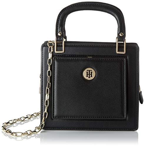 Tommy Hilfiger Th Fashion Crossover, Sacs bandoulière femme, Noir (Black), 8.5x16.7x18.8 cm (W x H L)