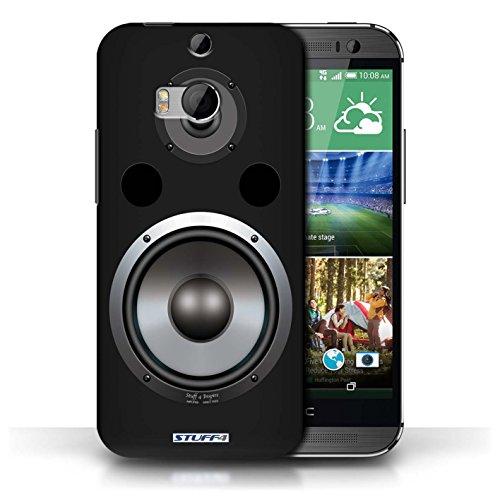 Kobalt® Imprimé Etui / Coque pour HTC One/1 M8 / Amplificateur conception / Série Haut-Parleur dessin Hifi