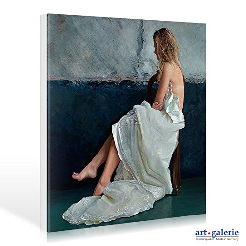 Leinwandbild Marten Huitsing - Whistler's daughter - 35 x 35cm - Premiumqualität - , Fotorealismus,...