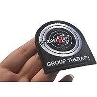 Minkoll GROUP THERAPY- Parche de mármol con gancho táctico militar