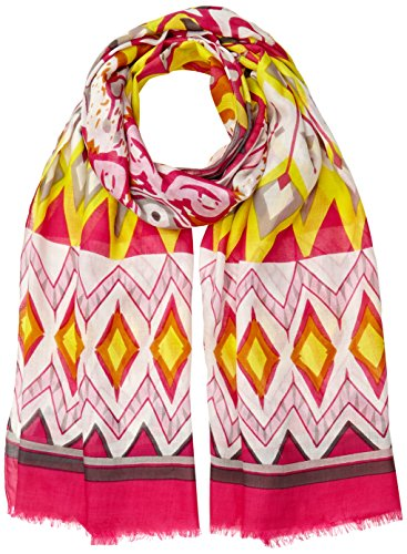 United Colors of Benetton Printed, Echarpe Femme Multicolore (Multicoloured)