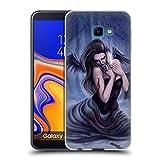 Head Case Designs Offizielle Tiffany Tito Toland-Scott Gefallener Engel In Weißer Kleidung Gotik Kunst Soft Gel Hülle für Samsung Galaxy J4 Core