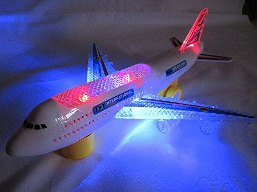 Elektrisches Flugzeug Airbus Boeing mit Light Sound Elektro Spielzeug Flieger